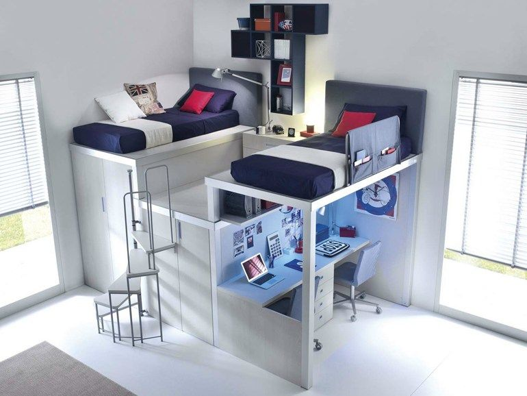 Download the catalogue and request prices of Tiramolla 909 by Tumidei, loft  teenage bedroom,