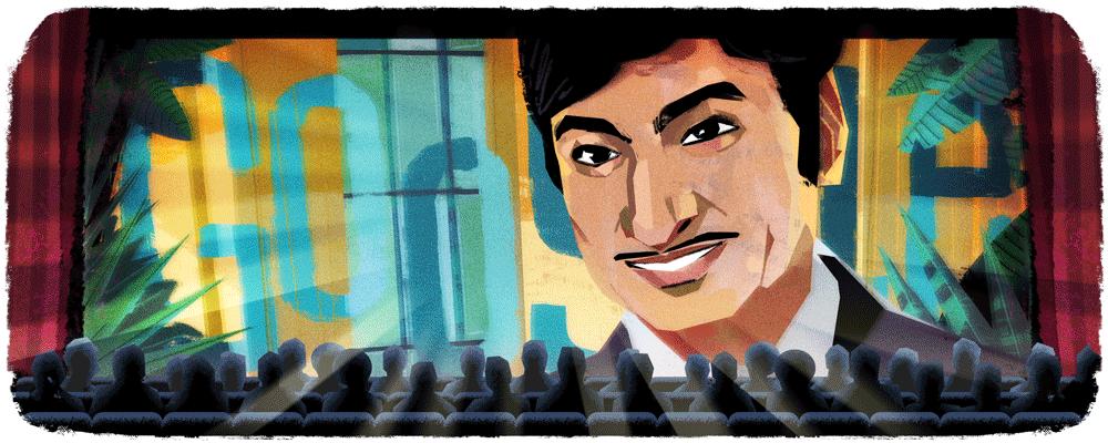India , Pakistan -24/04/2017  88° anniversario della nascita di Rajkumar