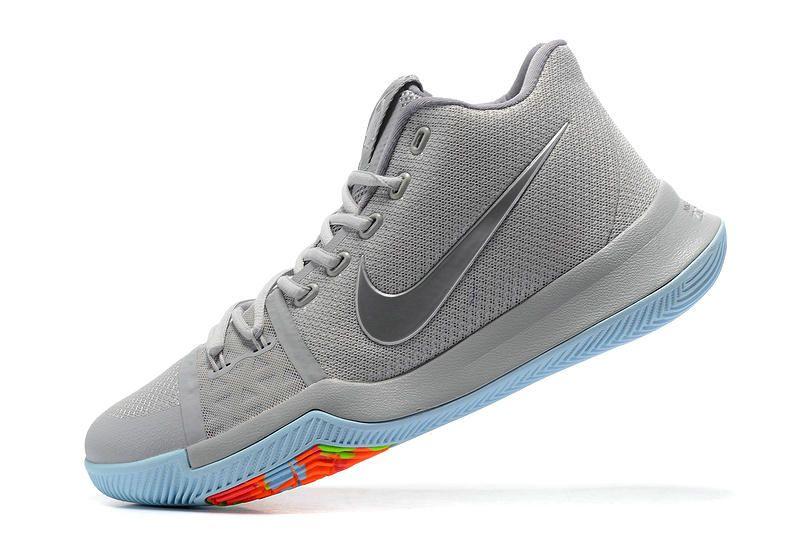 4f5e3b0a4df3 Cheap Nike Kyrie 3 Pure Platinum Multicolor Volt 852416-001