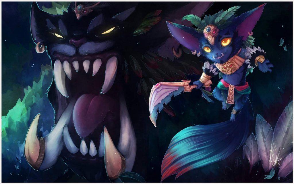 24 Gnar (League Of Legends) HD Wallpapers | Hintergrunde ...