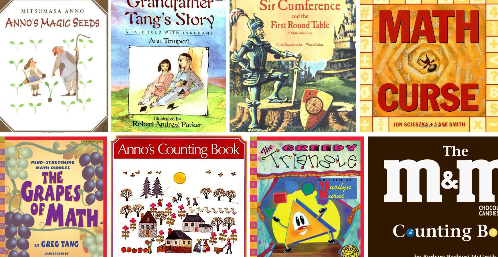 Math Books for Kids Story, Puzzles and Problem Solving