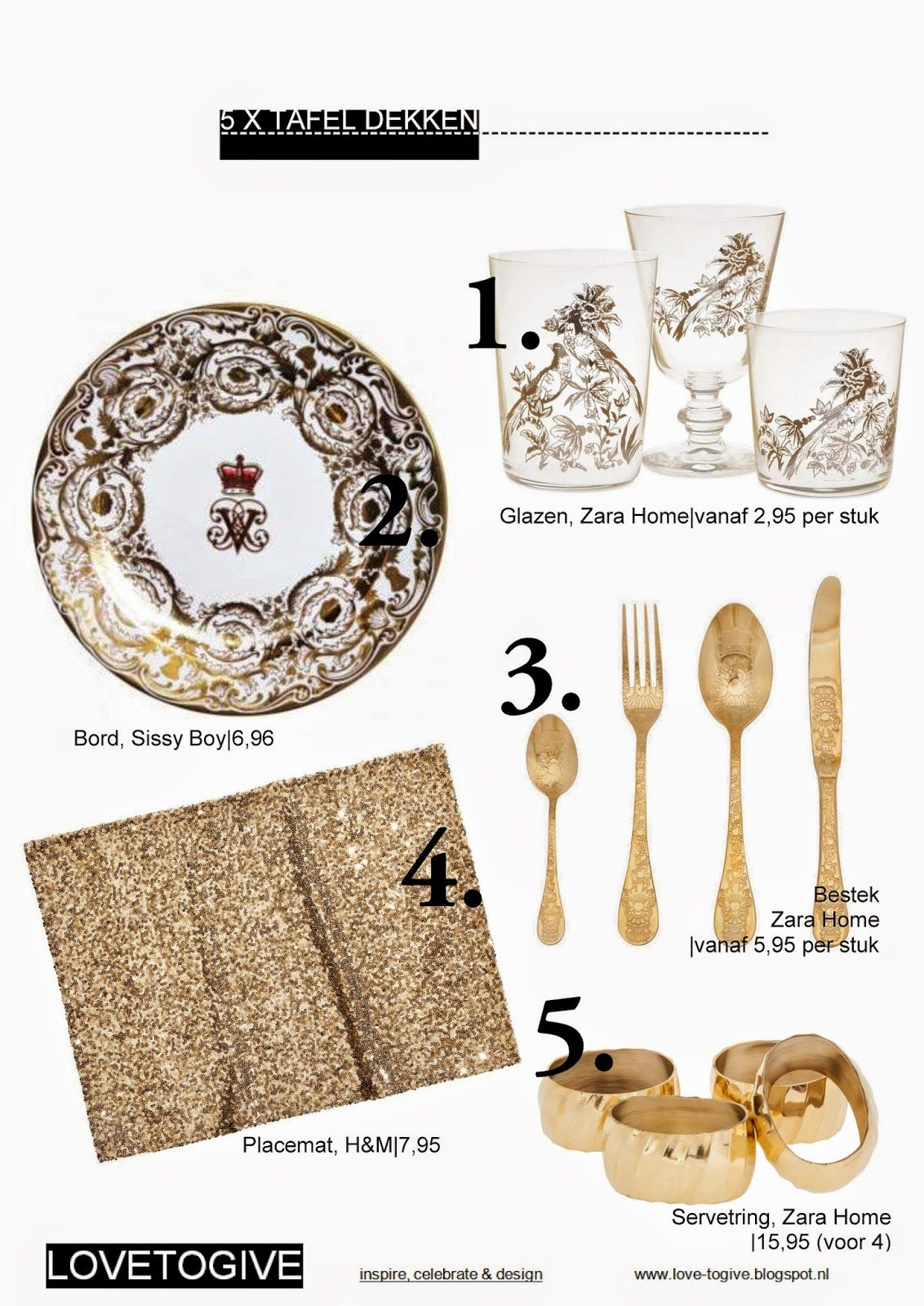 Zara Home Bestek Lovetogive Love To Eat 5 X Tafel Dekken Bestek 5 95