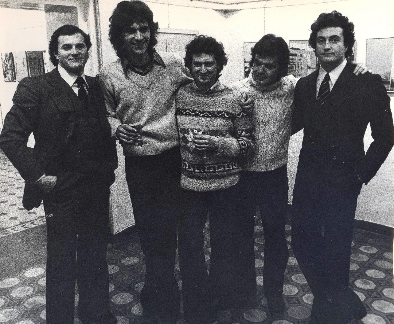 Rodolfo Torelli - Maurizio Camerani -  Maurizio Cosua - Giorgio Colombani -  Raffaele Torelli - Galleria Garofolo-Torelli, Rovigo 1974