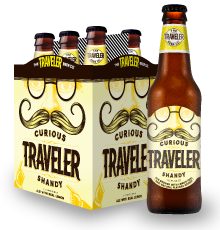 The Traveler Beer Co. Curious Traveler Packaging