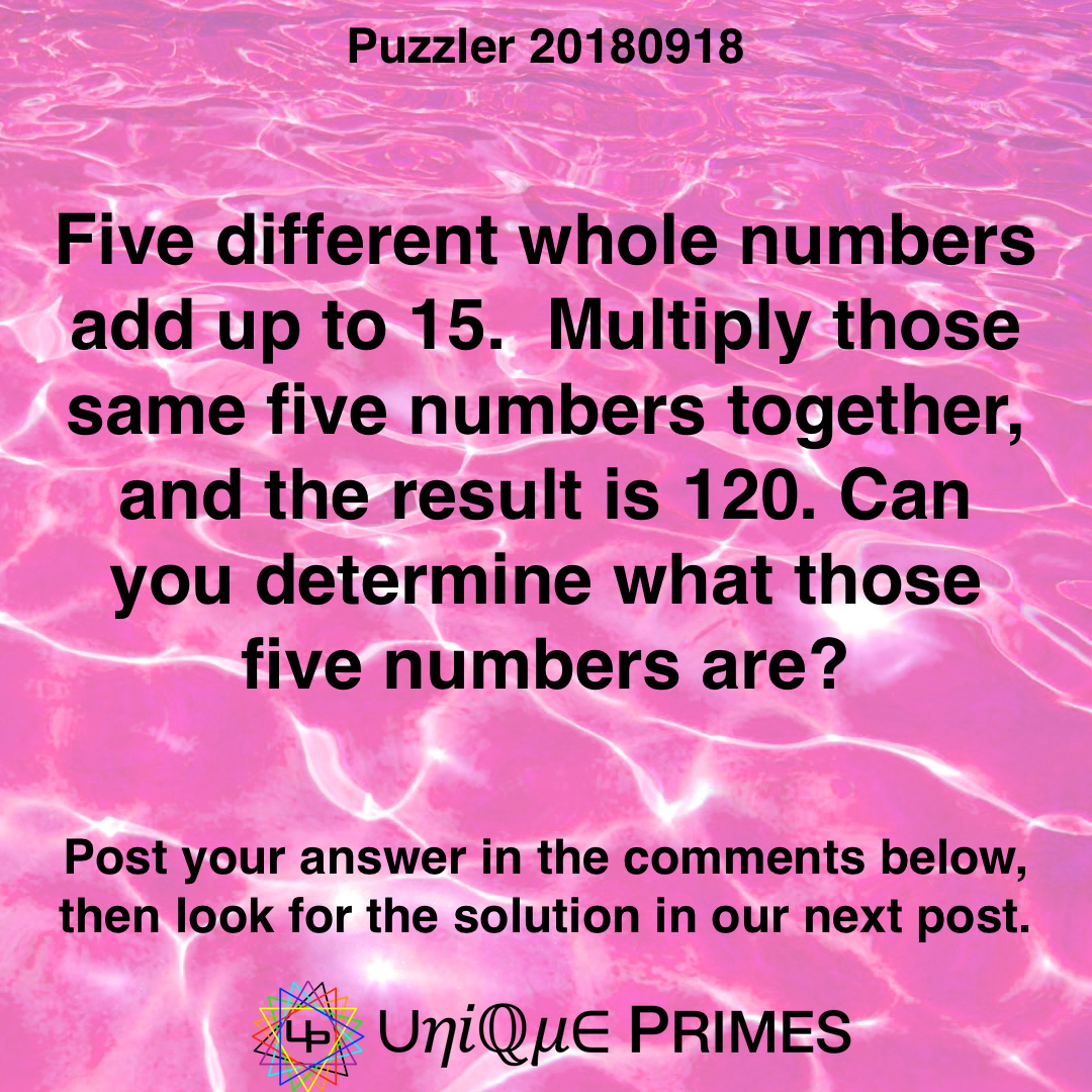 Pin On Math Puzzlers