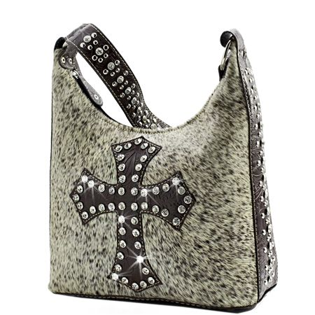 Furry Fun And Fashionable Our Hair On Cowhide Designer Western Handbags Combine A Traditional Rustic Charm With Contemporary Rhinestone Ornaments