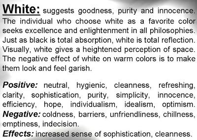psychology of color white - What Makes The Color White