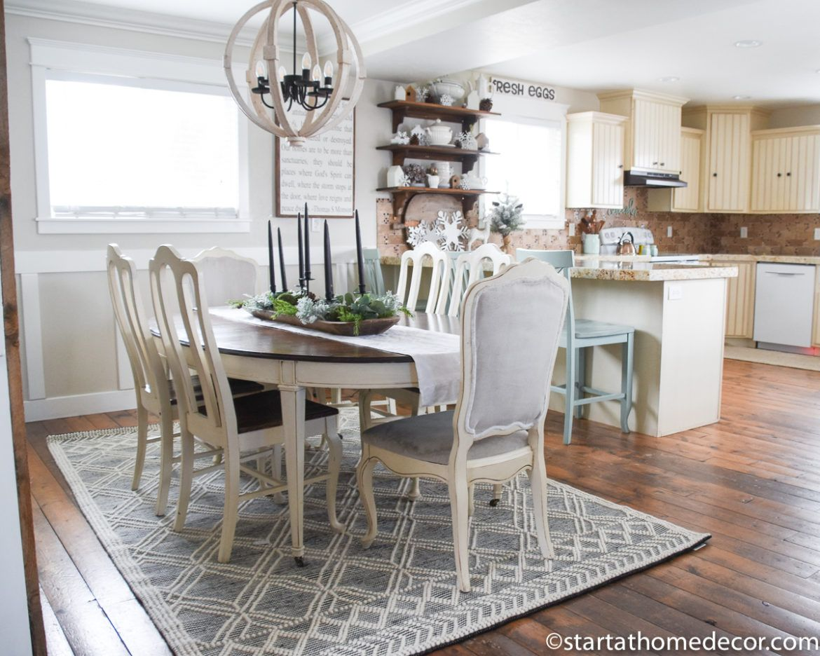 How to Choose the Perfect Dining Room Rug Dining room