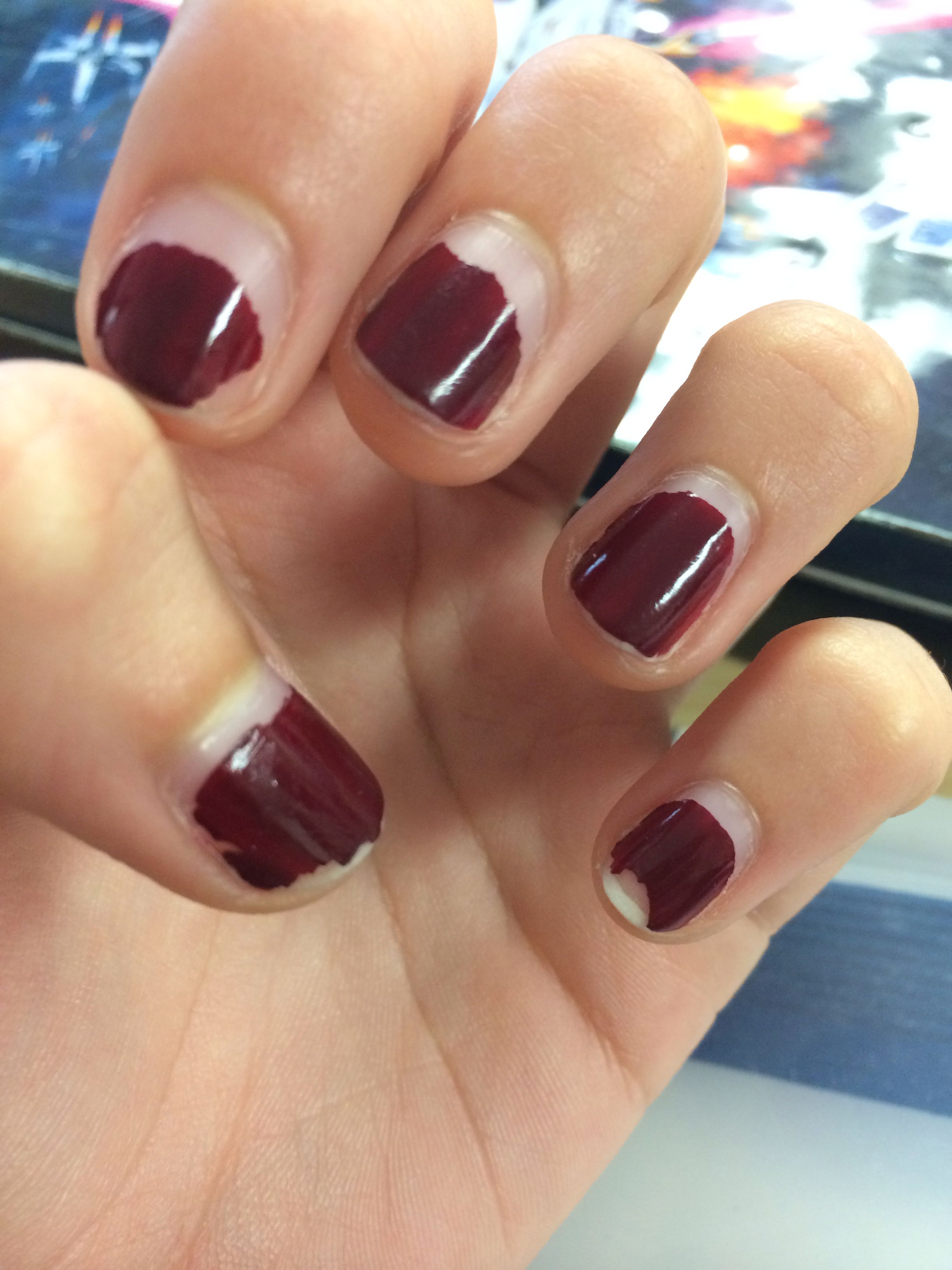 how to fix a chipped shellac nail at home
