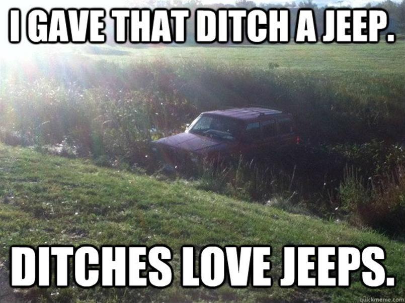 c6d88ee41466338e15e8e53a7018c8b0 jeep meme lmao jeepin pinterest jeep meme, jeeps and memes