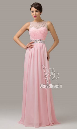 5cd5ec5e4d32e UZUN ABİYE ELBİSE PEMBE | Moda | Elbiseler, Elbise modelleri ...