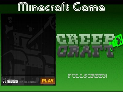 Though creepers and zombies are partners in attacking humans in Creep Craft Minecraft Games, they hate together since they want to own the Minecraft themselves.