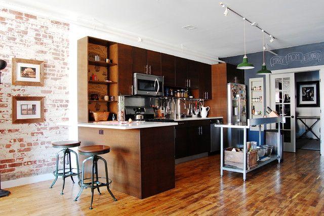 856 Industrial Style Kitchen Designs  Furniturex  Industrial Brilliant New York Kitchen Design Style Review