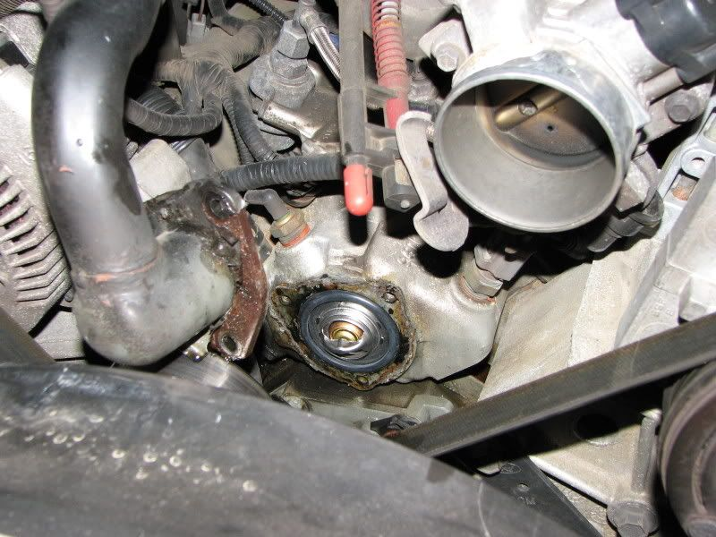 How To Replace A Thermostat On 1996 40l Ohv V6 Page 3 Ford Rhpinterest: Ford Ranger Thermostat Location At Gmaili.net