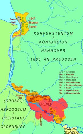 Bremen (state) - Wikipedia, the free encyclopedia | 2.4.2.2 | G.O. ...