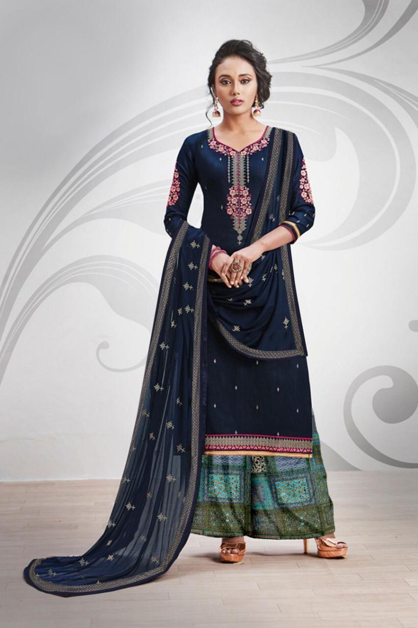 0acc6b155f Mayuri Patiyala | Patiyala di 2019 | Cotton salwar kameez, Designer ...