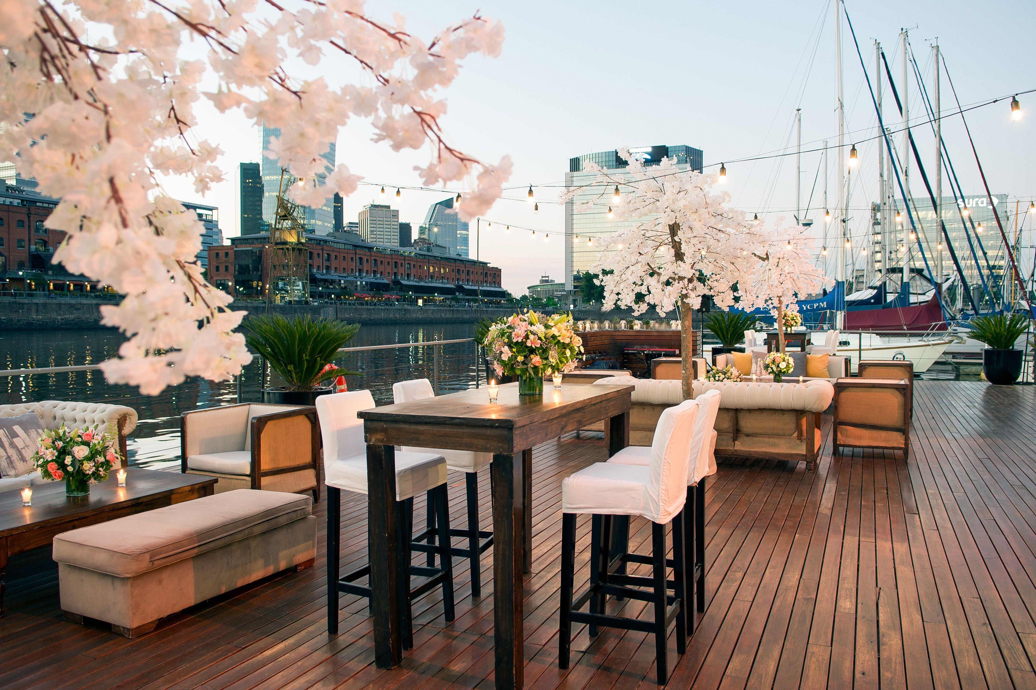 Casamiento En Terraza Deck Terraza Deck Salón De Eventos