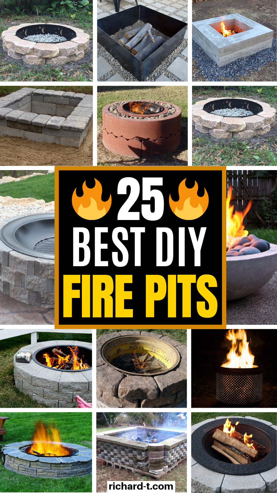 25 Simple and really amazing DIY fire pits that you can ...