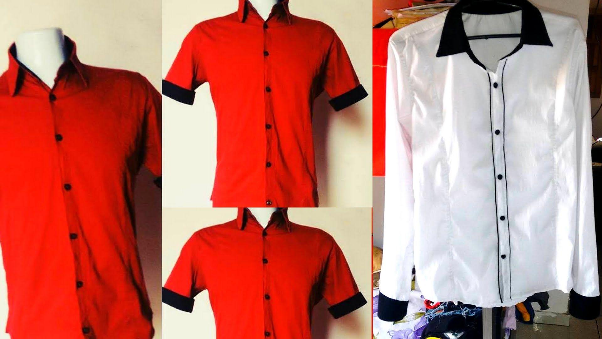 Aprenda passo-a-passo  modelagem rápida de camisa social slim fit ... 846e8e802db21