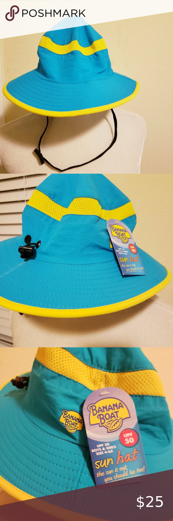 Banana Boat Kids Sun Hat 4 6x Designed In A Quick Drying Fabric With Upf 50 Anti Uv Protection Against The Sun S Harmf Kids Sun Hat Banana Boat Kids Sun Hats