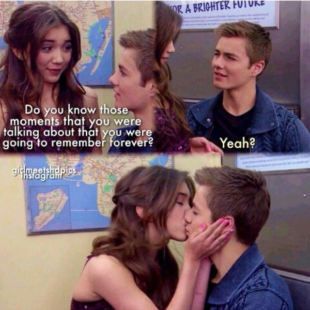 in girl meets world are riley and lucas dating Girl meets world is one of the few shows on the it's not breaking girl code if your girl is practically riley will be ok with maya and lucas dating.