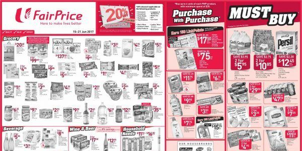 Ntuc Fairprice Singapore Your Weekly Saver Promotion 15 21 Jun 2017 Savers 10 Things Wine And Beer