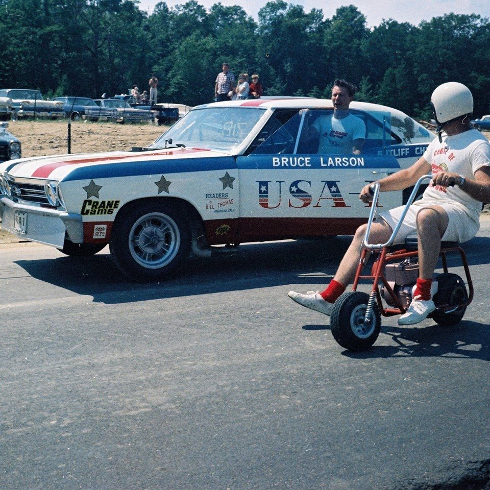 Vintage Drag Racing - Bruce Larson and the USA-1 Chevy | Dragracing ...