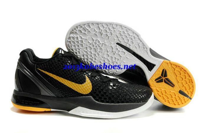 big sale 33f45 1eecd ... spain 2013 nike zoom kobe 6 black mamba black del sol for shoes for  sports e36e0