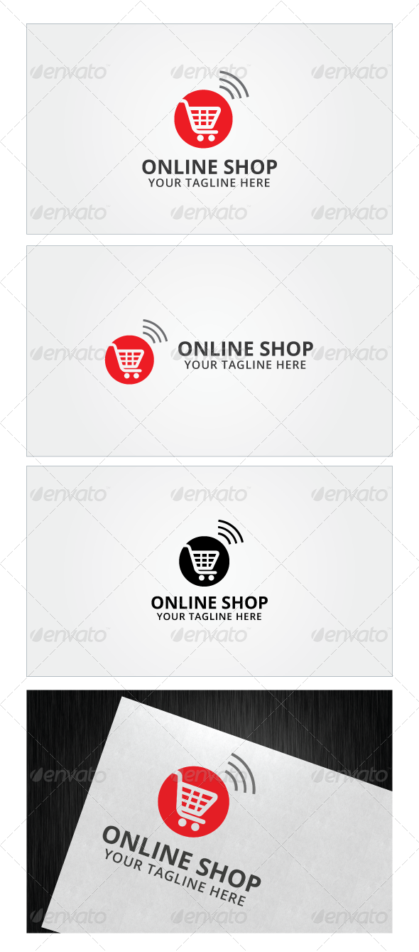 Online Shop Logo Template Shop Logo Logo Templates And Logos