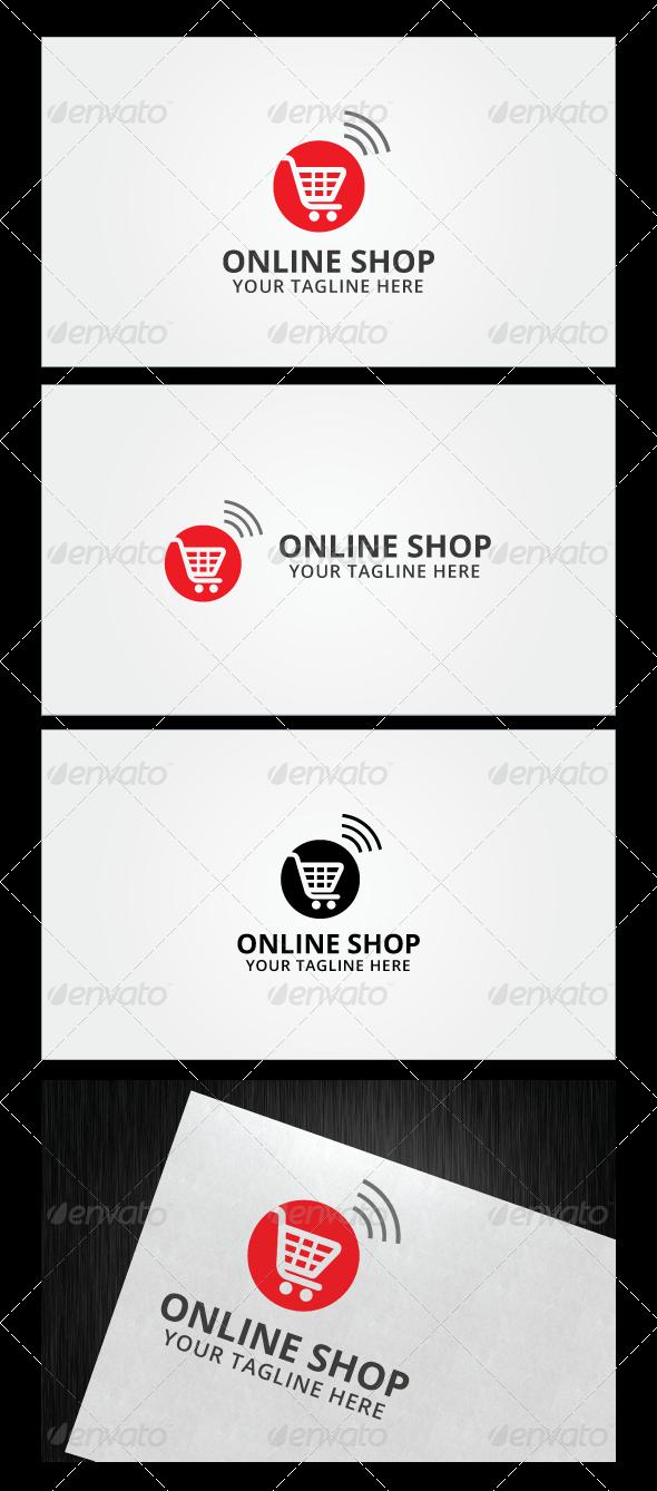 Online Shop Logo Template Fonts Logos Icons Pinterest Shop