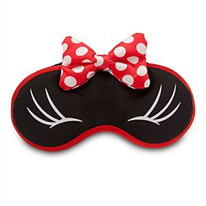Disney Minnie Mouse Plush Sleep Mask | Disney StoreMinnie Mouse Plush Sleep Mask - She'll shut out the day's worries for an evening of sweet dreams wearing Minnie's plush sleep mask with polka dot bow accents and bow appliqu�.