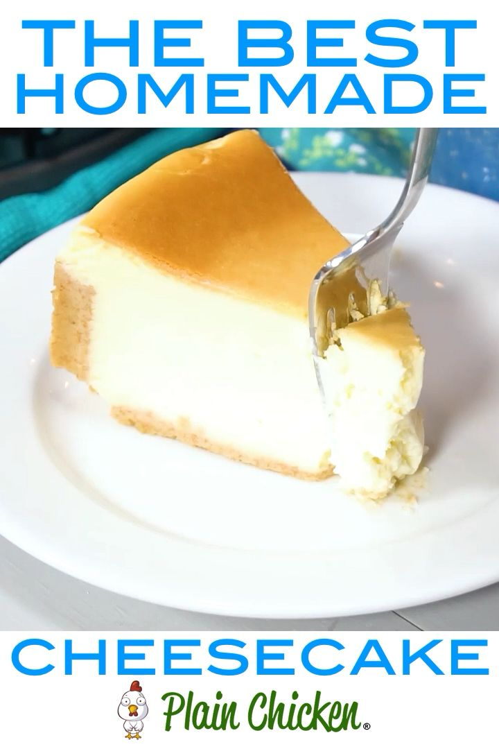 Photo of The Best Homemade Cheesecake