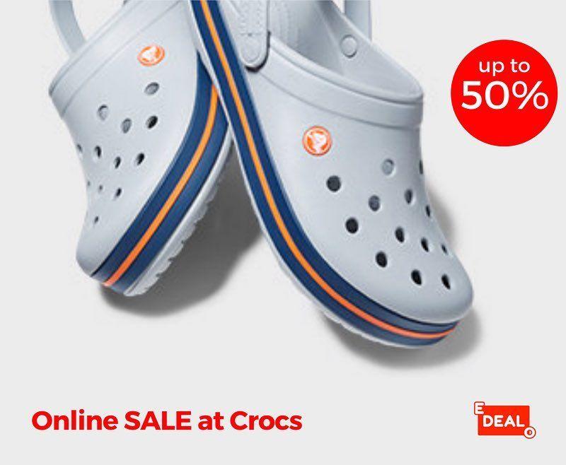 SHOP this online Crocs Sale via edealo