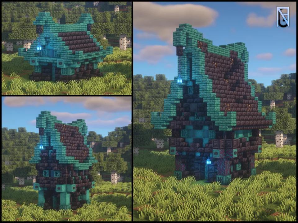 Level Up Your Blackstone House Minecraft Minecraft Structures Minecraft Houses Minecraft Blueprints