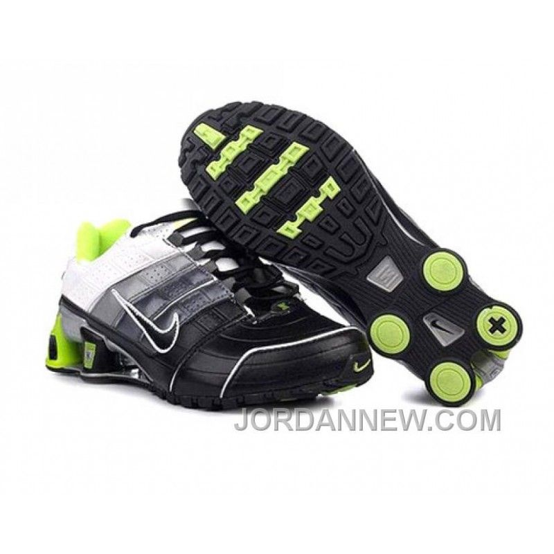 0eb5ce7889599e Find Quality Men s Nike Shox NZ Shoes Black Grey Silver White Green Super  Deals and more on J
