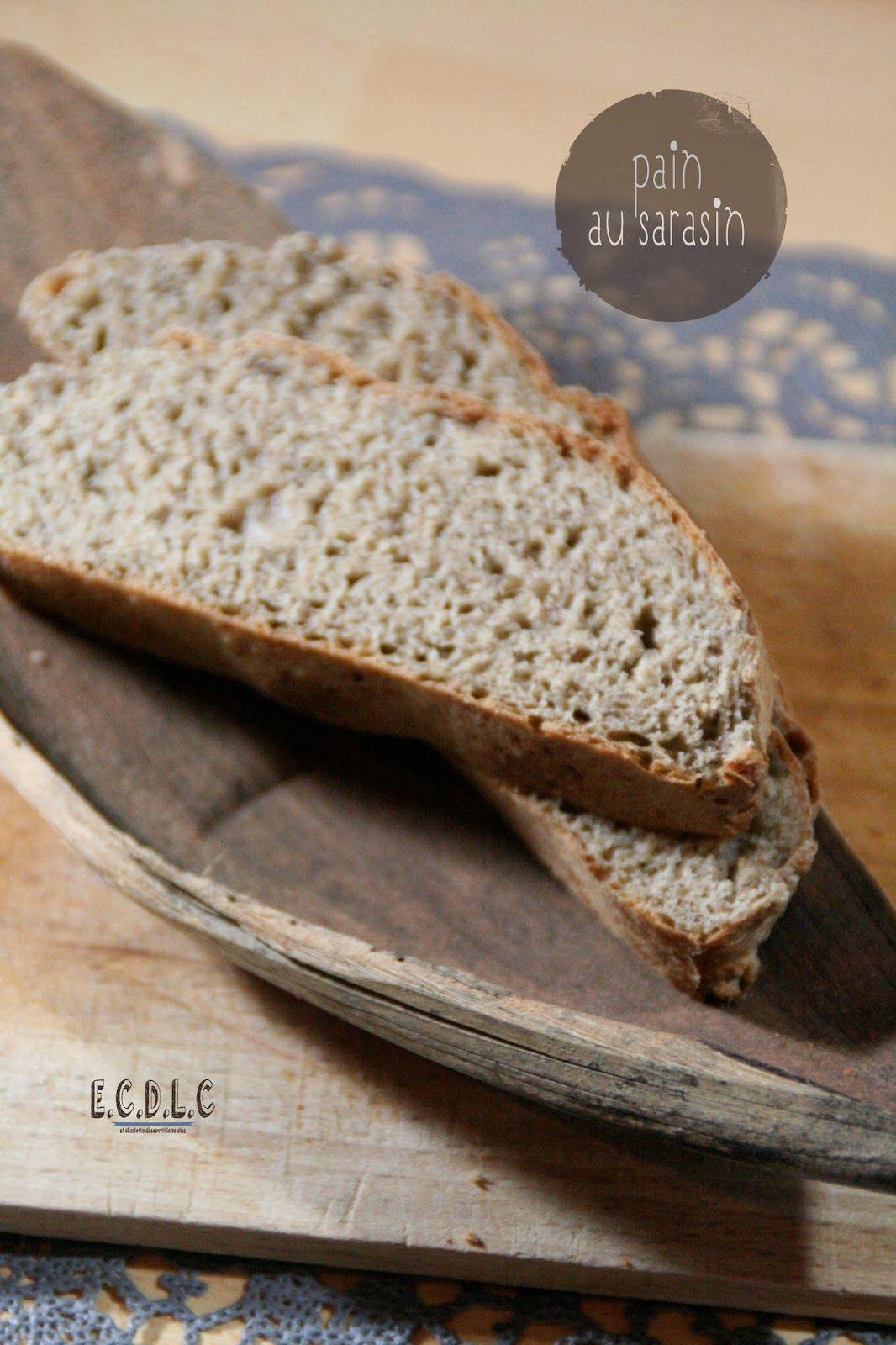 // ATTENTION // ET CHARLOTTE DÉCOUVRIT LA CUISINE...: #Pain au #Sarrasin Le pain ne lève pas après la cuisson. C'est un loupé pour moi. Et j'ai pourtant bien respecté la recette. Très déçu