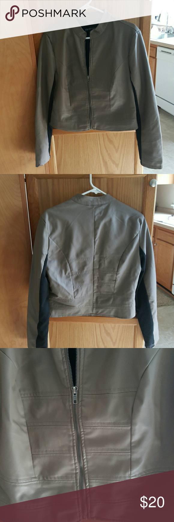 Jacket Very nice worn a few times no rips,stains or tares. Measurements:From shoulder to waist 20 1/2 in. Laying flat chest is 20 in. Armpit to wrist is 19 1/2 in. I.B. Diffusion  Jackets & Coats
