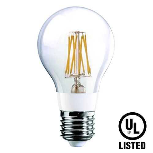 Luxrite Lr21238 7watt Led Filament A19 Light Bulb 75w Incandescent Light Bulb Replacement Warm White 2 Incandescent Light Bulb Light Bulb Incandescent Lighting