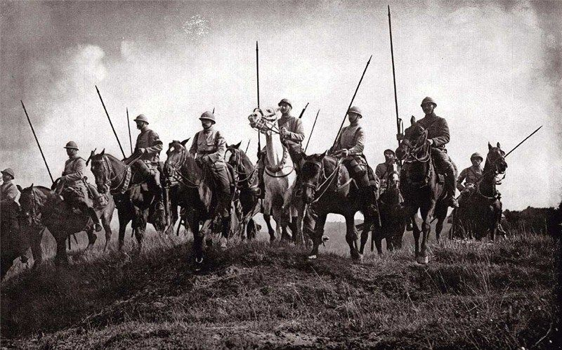 Image result for ww1 french cavalry