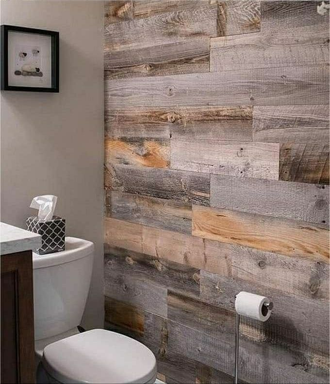Diy Interior Decorating: Get The Look Of Shiplap With Wallpaper. We Can Even Help