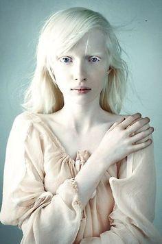 Albino white girl with big ass