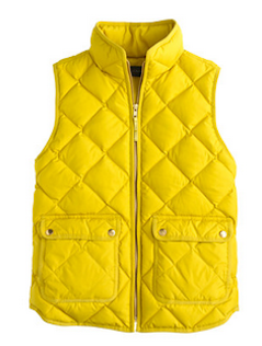 Cozy and chic puffer vest http://rstyle.me/~2IzYD