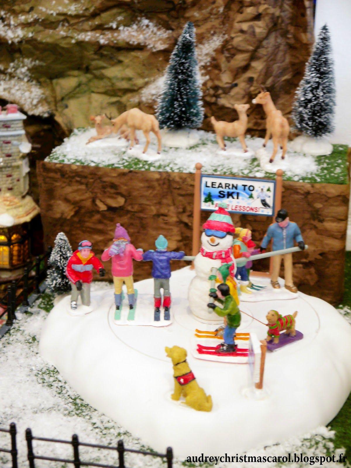 Epingle Sur Lemax Christmas Village