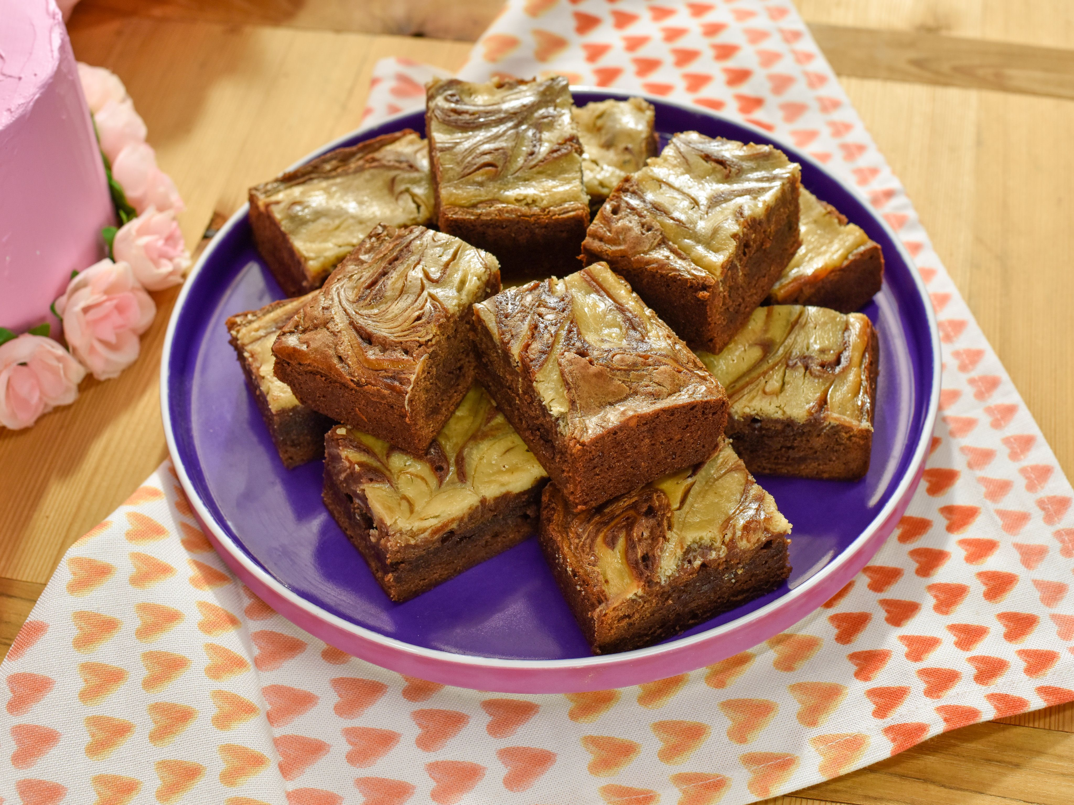 Sunny S Sour Cream Swirl Brownies Recipe Food Network Recipes Delicious Desserts Swirl Brownies