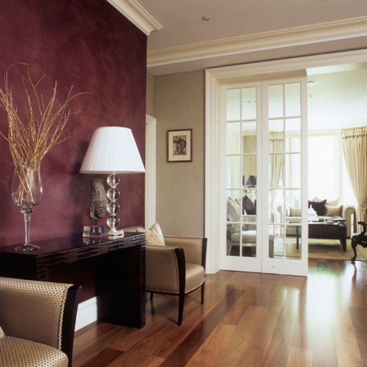 Interior Paint Design Ideas For Living Rooms Image Result For Burgundy Wallpaper Ideas  Home Design Ideas