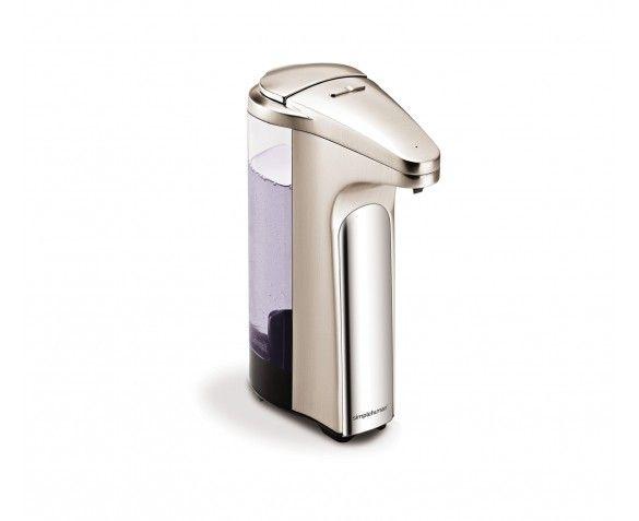 Sensor Pump With Soap Sample Brushed Nickel Simplehuman Soap