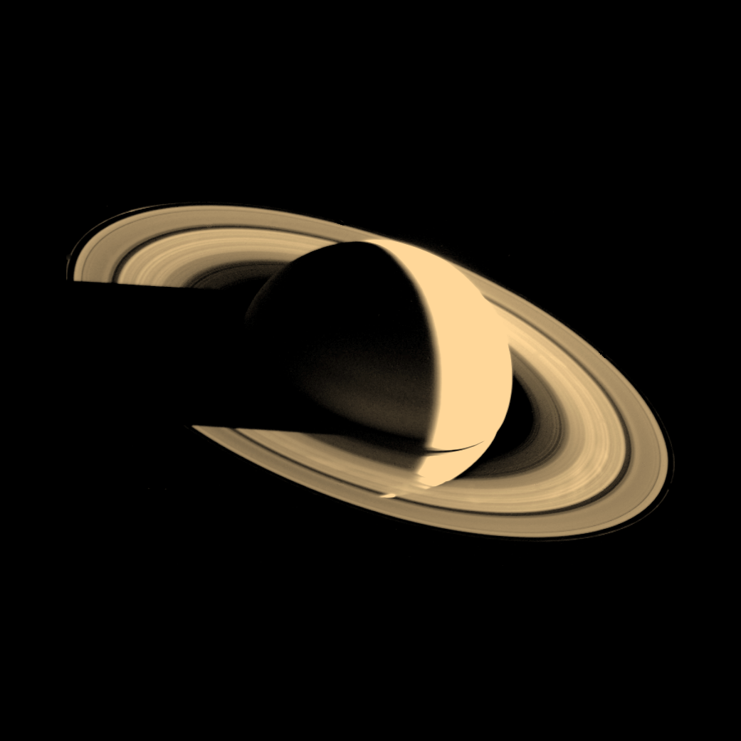 Voyager 1 Image Of Saturn Planets Saturn Solar System Images