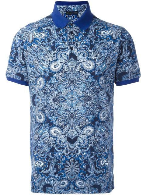827ad2de83180 ETRO Abstract Print Polo Shirt.  etro  cloth  shirt