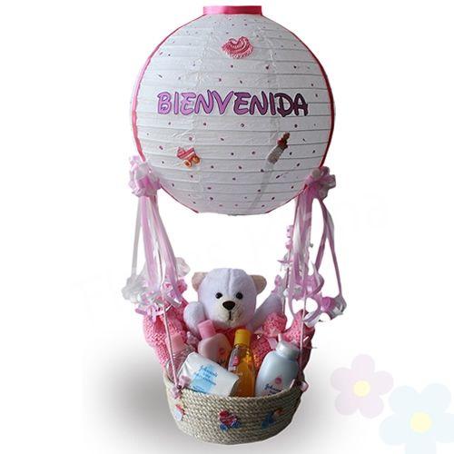 Globo bienvenido beb para lore fest baby gifts baby shower y candy bouquet - Que regalar en un bautizo al bebe ...