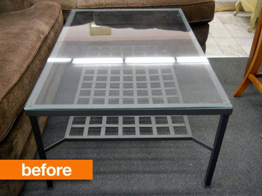 Before After Ikea Granas Table Gets A Rustic Makeover In